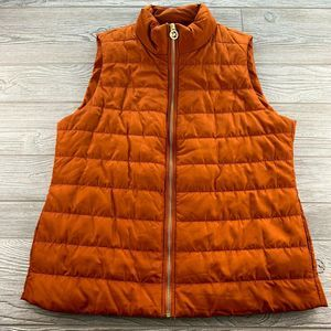 Michael Kors Puffy Vest Size Large